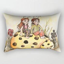Ladybug Friends Rectangular Pillow
