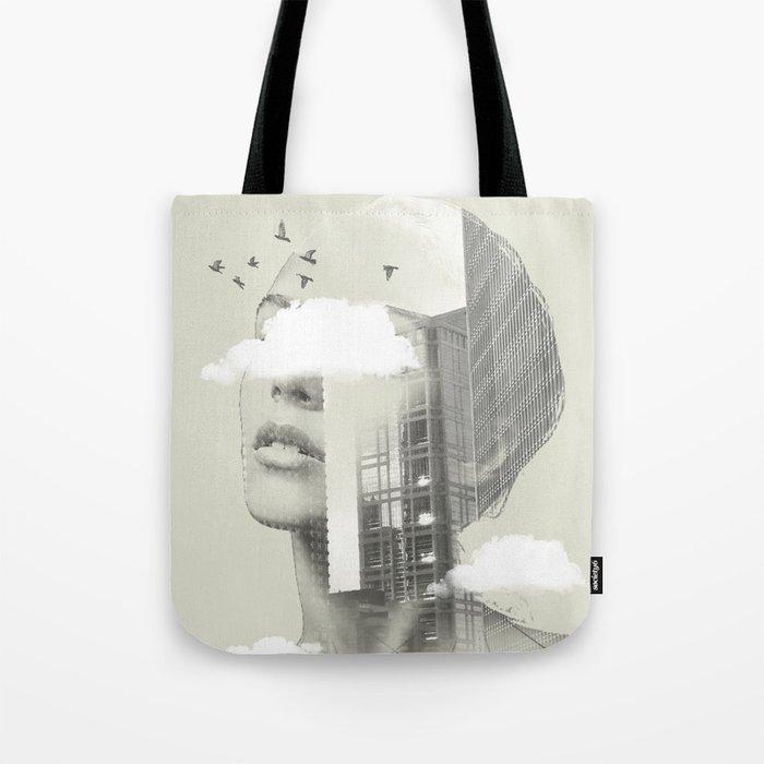 Town Facet Tote Bag