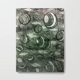 Greyscale Metal Print