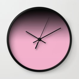 Grape wine , Ombre Wall Clock