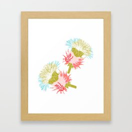 Pure flower Framed Art Print