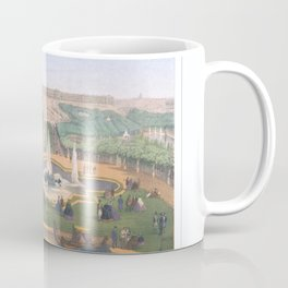 Paris art print Paris Decor office decoration vintage decor VERSAILLES CHATEAU of Paris Coffee Mug