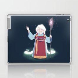 Völva - the viking sorceress Laptop & iPad Skin