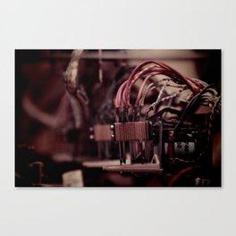 Inside a Pinball Machine No. 4 Canvas Print