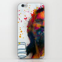 the dude iPhone & iPod Skins featuring dude by benjamin james