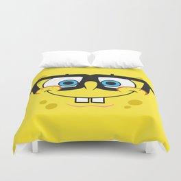Spongebob Nerd Face Duvet Cover