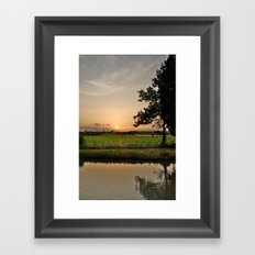 Vineyards Framed Art Print