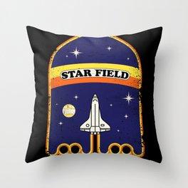 Star Field Throw Pillow