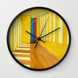 Casa Gilardi I Wall Clock