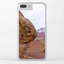 On the road to the Grand Canyon. Arizona, USA. Clear iPhone Case