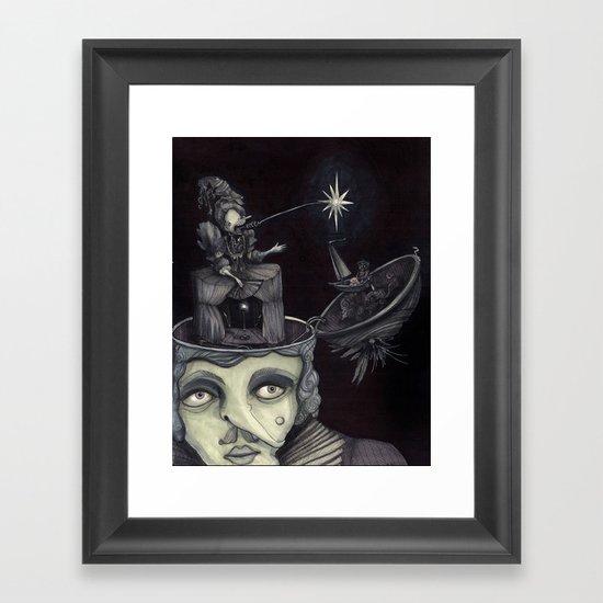 Ghost Light Framed Art Print
