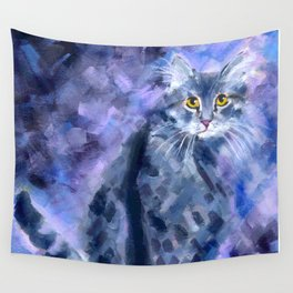 Silver Soft Wall Tapestry
