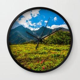 Vicinity of the volcano Vachkazhets Wall Clock