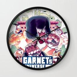 Garnet's Universe Wall Clock