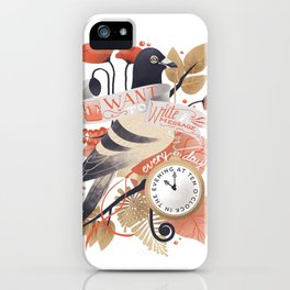I Want The World To Stop iPhone Case