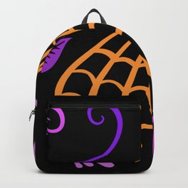 Halloween Nights Created By Kat Co Backpack