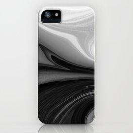 BRILLIANT - BLACK iPhone Case
