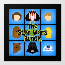 The Bunch Canvas Print