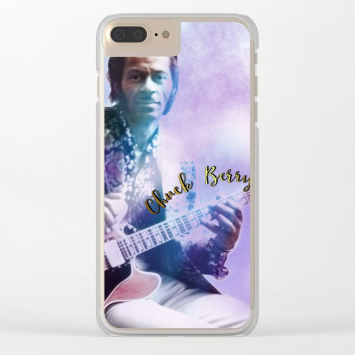 Father of Rock and Roll Clear iPhone Case