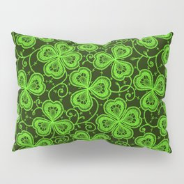 Clover Lace Pattern Pillow Sham