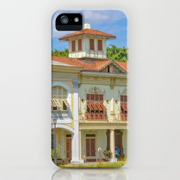 Historic Buildings, Parque Historico, Guayaquil, Ecuador iPhone Case