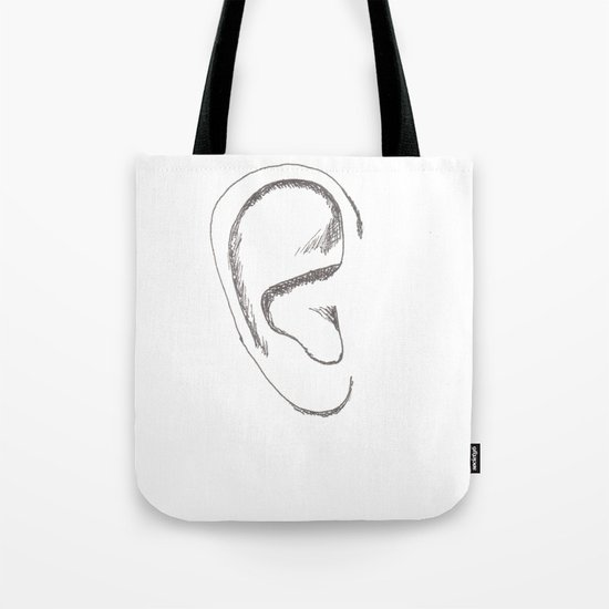 an earful Right Tote Bag