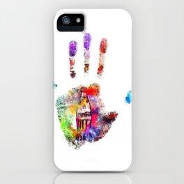 Handprint Coke iPhone Case