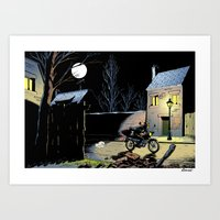 moto Art Prints featuring Moto by Yves Rodier