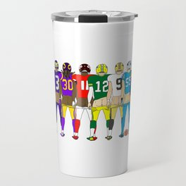Football Butts Travel Mug