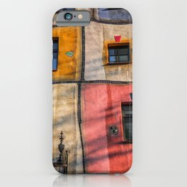 Hundertwasserhaus  Vienna Austria 2 building iPhone Case
