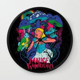 Malice In Wonderland Wall Clock