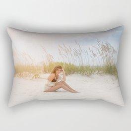 Summer Beaching Rectangular Pillow