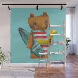 Summer Bear Wall Mural