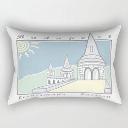 Fisherman's Bastion, Budapest, Hungary Rectangular Pillow