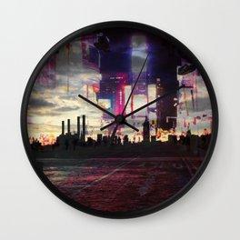 Moodboard NYC Wall Clock