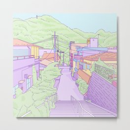 Another everyday place in Japan Metal Print