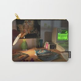80s Nerd Desk Still Life Carry-All Pouch