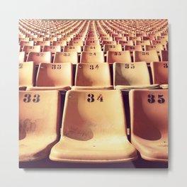 34 Metal Print