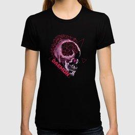 Daemon Floral Skull T-shirt
