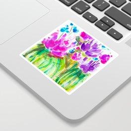 Flowerista Cactus Sticker