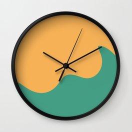Tahiti Waves Wall Clock