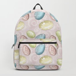 Easter Eggs Pattern Backpack