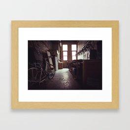 Workshop Framed Art Print