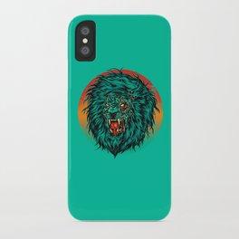 Zombie Lion iPhone Case