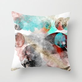 Planets 34 Throw Pillow
