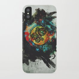 Circle of Life Surreal Study iPhone Case