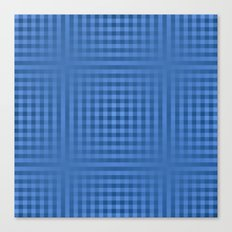 Experiment in Blue Canvas Print