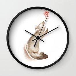 Petit loup ! Wall Clock