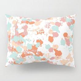 Freestyle Paint Summer Colors Pillow Sham