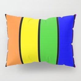 RAINBOW stripes Pillow Sham